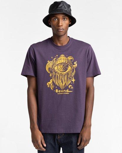 1 A World Apart - T-Shirt for Men Purple Z1SSO7ELF1 Element