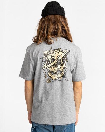 3 Elliptical - T-Shirt for Men Grey Z1SSO8ELF1 Element