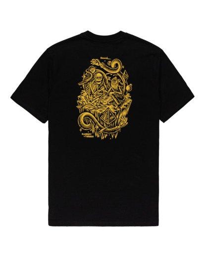 1 Acceptance - T-Shirt for Men Black Z1SSO9ELF1 Element