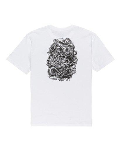 1 Acceptance - T-shirt pour Homme Blanc Z1SSO9ELF1 Element