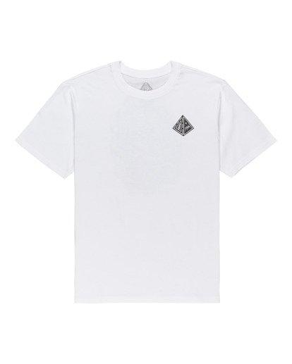 0 Acceptance - T-shirt pour Homme Blanc Z1SSO9ELF1 Element