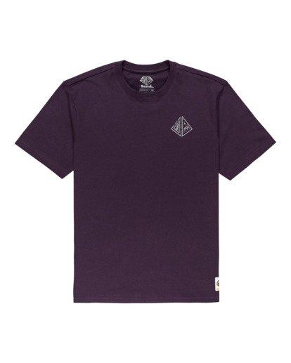 0 Acceptance - T-shirt pour Homme Violet Z1SSO9ELF1 Element