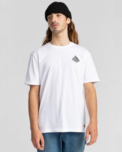 2 Acceptance - T-shirt pour Homme Blanc Z1SSO9ELF1 Element