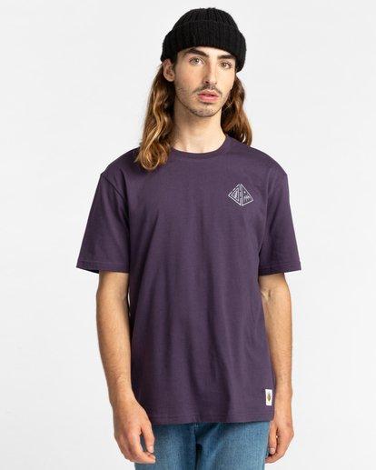 2 Acceptance - T-shirt pour Homme Violet Z1SSO9ELF1 Element