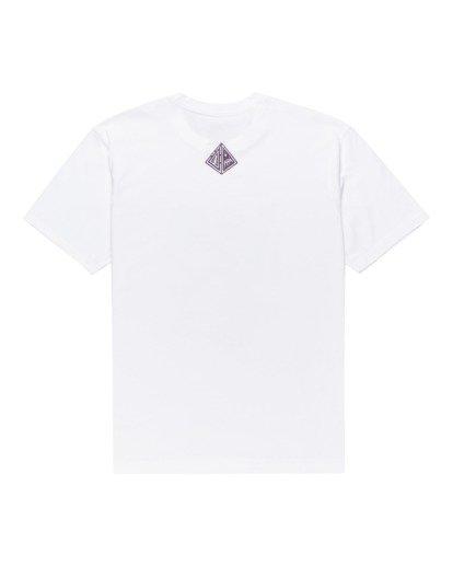 1 Forward - T-shirt pour Homme Blanc Z1SSP2ELF1 Element