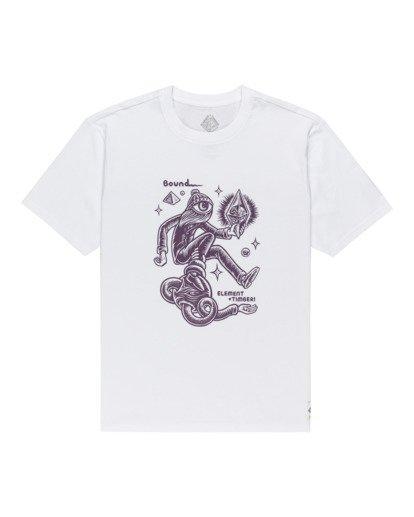 0 Forward - T-shirt pour Homme Blanc Z1SSP2ELF1 Element