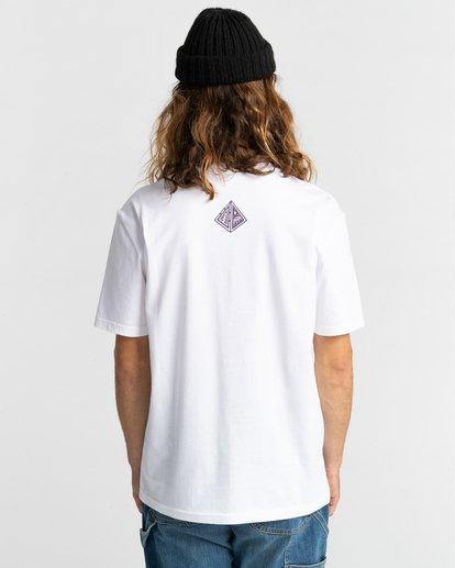 3 Forward - T-shirt pour Homme Blanc Z1SSP2ELF1 Element
