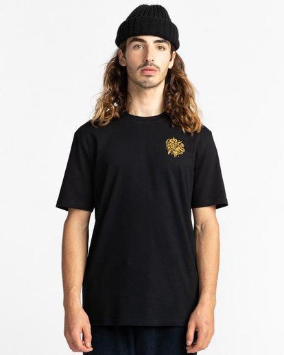 2 Reasoning - T-Shirt for Men Black Z1SSP3ELF1 Element