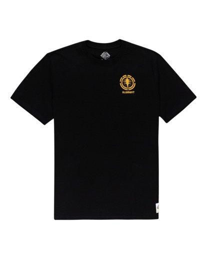 0 Rotation - T-shirt pour Homme Noir Z1SSP4ELF1 Element