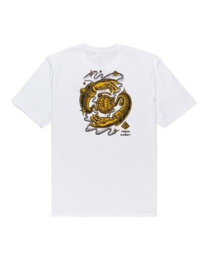 1 Rotation - T-Shirt for Men White Z1SSP4ELF1 Element