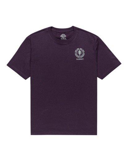 0 Rotation - T-Shirt for Men Purple Z1SSP4ELF1 Element