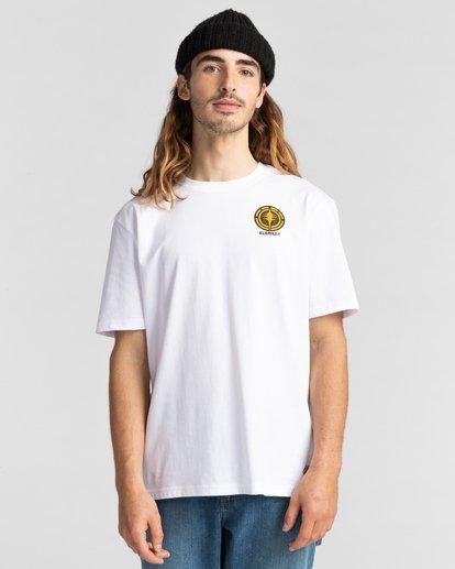 2 Rotation - T-Shirt for Men White Z1SSP4ELF1 Element