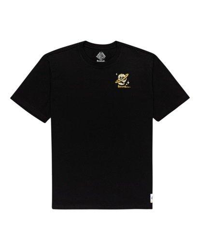 0 Transender - T-shirt pour Homme Noir Z1SSP5ELF1 Element