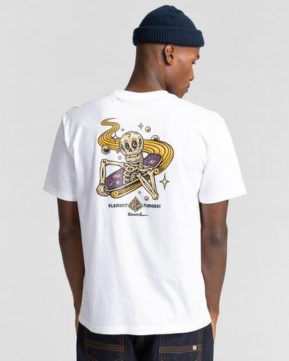 3 Transender - T-shirt pour Homme Blanc Z1SSP5ELF1 Element