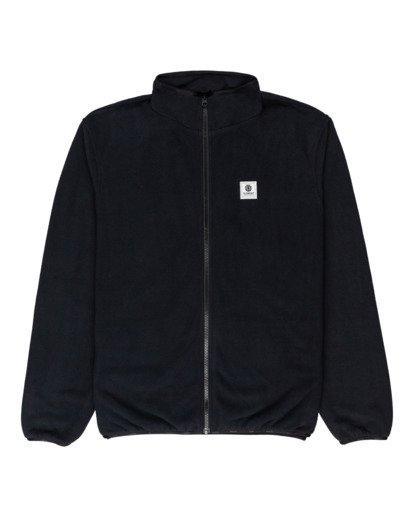 0 Abenaki - Zip-Up Fleece for Men Black Z1WAB3ELF1 Element
