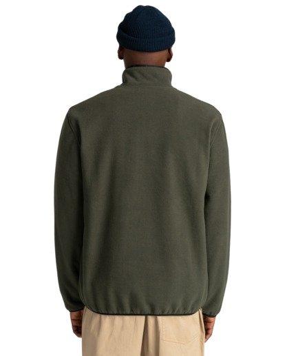 6 Abenaki - Sweat zippé pour Homme Vert Z1WAB3ELF1 Element