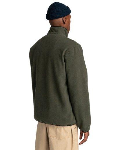 3 Abenaki - Sweat zippé pour Homme Vert Z1WAB3ELF1 Element