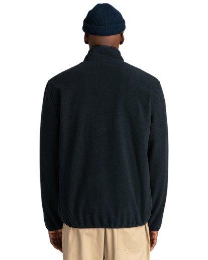 6 Abenaki - Sweat zippé pour Homme Noir Z1WAB3ELF1 Element