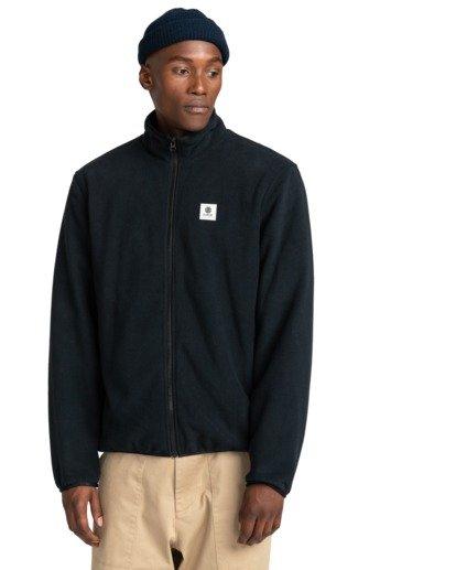 1 Abenaki - Zip-Up Fleece for Men Black Z1WAB3ELF1 Element