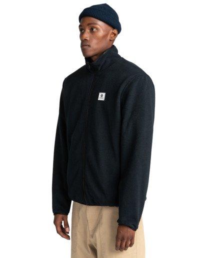2 Abenaki - Zip-Up Fleece for Men Black Z1WAB3ELF1 Element