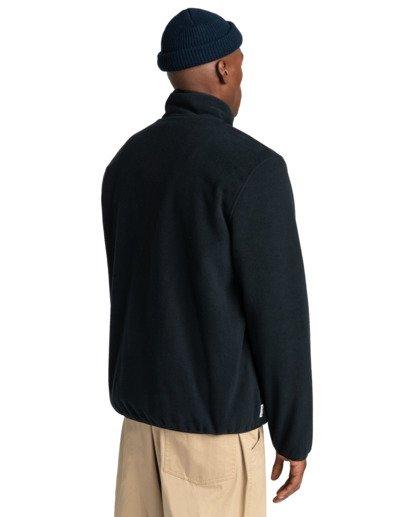 3 Abenaki - Zip-Up Fleece for Men Black Z1WAB3ELF1 Element