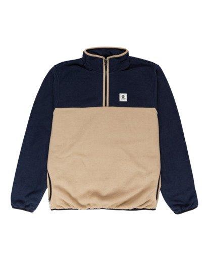 0 Abenaki - Half Zip Fleece for Men Blue Z1WAB4ELF1 Element