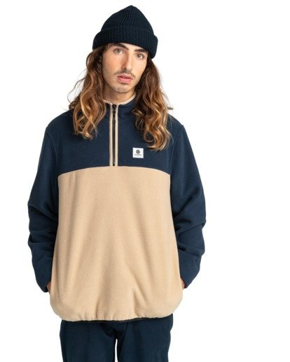 1 Abenaki - Half Zip Fleece for Men Blue Z1WAB4ELF1 Element