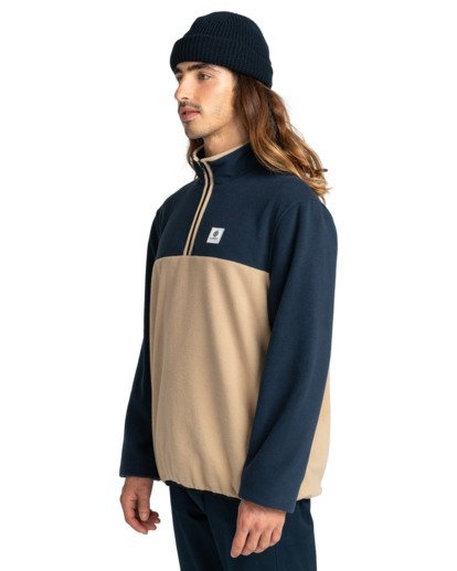 2 Abenaki - Half Zip Fleece for Men Blue Z1WAB4ELF1 Element