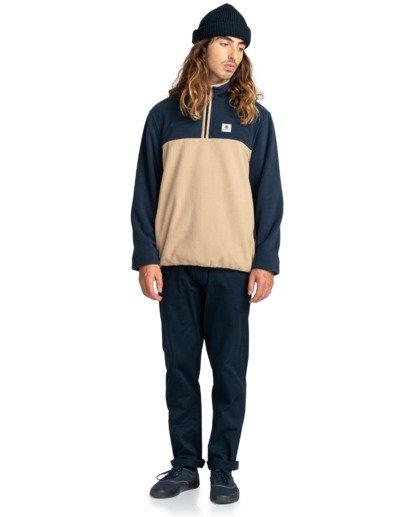 5 Abenaki - Half Zip Fleece for Men Blue Z1WAB4ELF1 Element