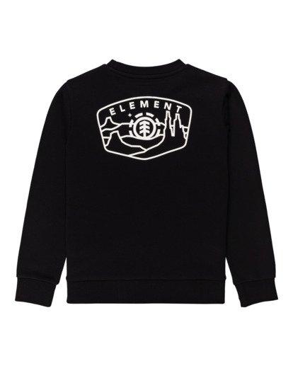 1 Navio - Sweatshirt for Boys Black Z2CRB7ELF1 Element