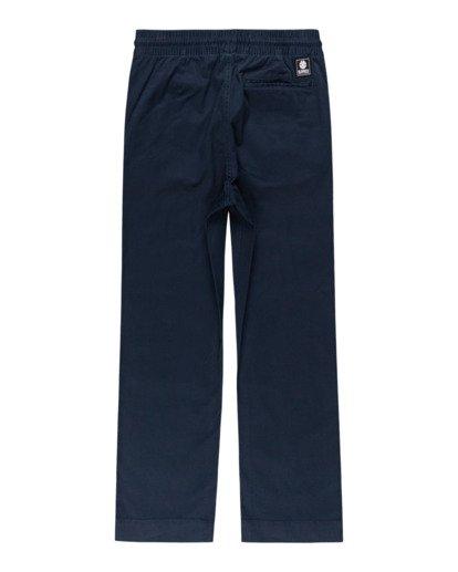 1 Chillin Twill - Pantalon pour Garçon Bleu Z2PTB2ELF1 Element