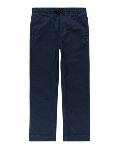 0 Chillin Twill - Pantalon pour Garçon Bleu Z2PTB2ELF1 Element