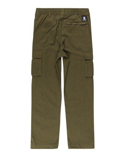 1 Mayari Cargo - Trousers for Boys Green Z2PTB4ELF1 Element