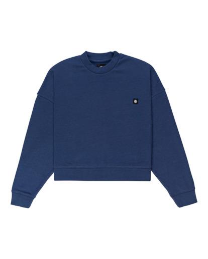 0 92 - Sweatshirt for Women Blue Z3CRB1ELF1 Element