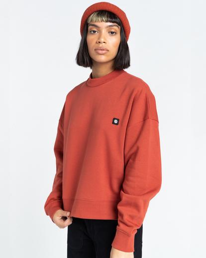 2 92 - Sweatshirt for Women Red Z3CRB1ELF1 Element
