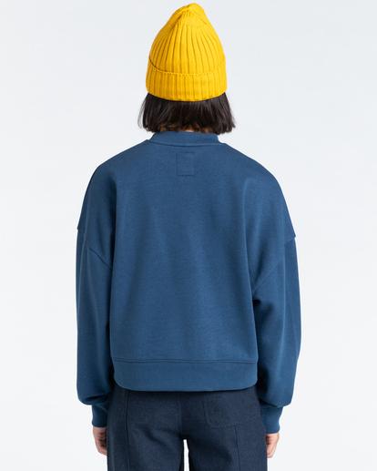 3 92 - Sweatshirt for Women Blue Z3CRB1ELF1 Element