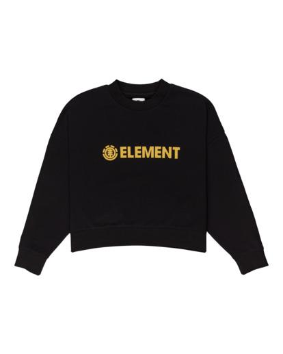 0 Logic - Sweatshirt for Women Black Z3CRB2ELF1 Element