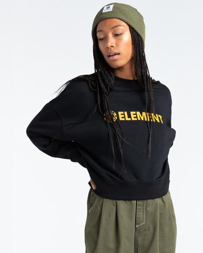 2 Logic - Sweatshirt for Women Black Z3CRB2ELF1 Element
