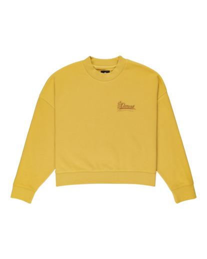 0 Baleek - Sweatshirt for Women Yellow Z3CRB3ELF1 Element