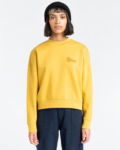 1 Baleek - Sweatshirt for Women Yellow Z3CRB3ELF1 Element