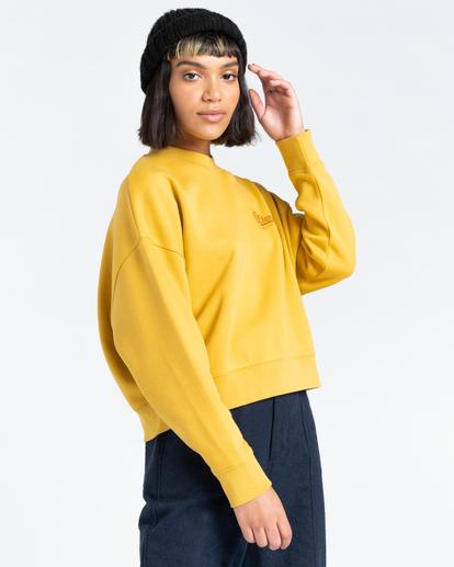 2 Baleek - Sweatshirt for Women Yellow Z3CRB3ELF1 Element