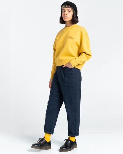 3 Baleek - Sweatshirt for Women Yellow Z3CRB3ELF1 Element