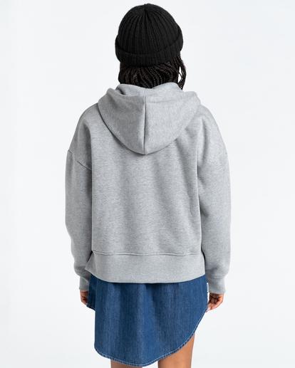 4 Lyngdall - Zip-Up Hoodie for Women Grey Z3FLC1ELF1 Element