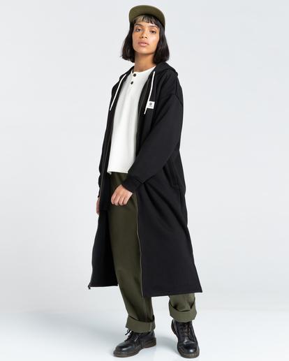 2 Lyngdall - Tall Zip-Up Hoodie for Women Black Z3FLC2ELF1 Element