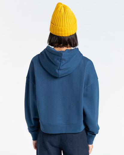 3 92 - Hoodie for Women Blue Z3HOB1ELF1 Element