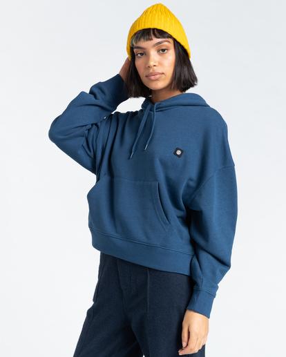 2 92 - Hoodie for Women Blue Z3HOB1ELF1 Element