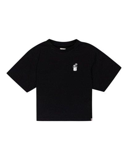0 Minimal - T-Shirt for Women Black Z3KTC1ELF1 Element