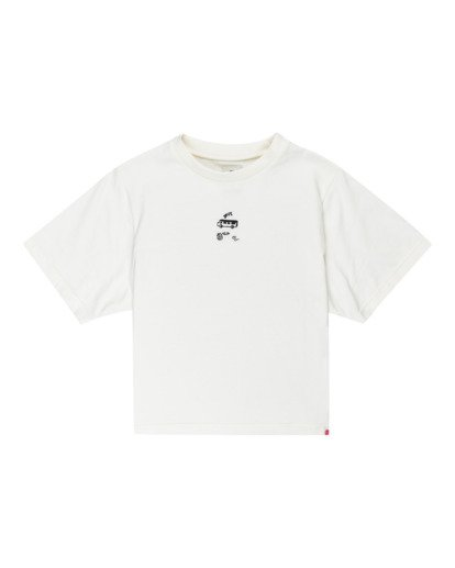 0 Minimal - Camiseta para Mujer Beige Z3KTC1ELF1 Element