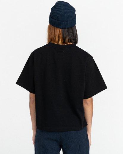 4 Minimal - T-Shirt for Women Black Z3KTC1ELF1 Element
