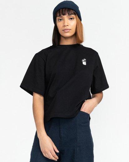 2 Minimal - T-Shirt for Women Black Z3KTC1ELF1 Element